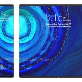 Huawei Mate x2 Exklusive Renderbilder